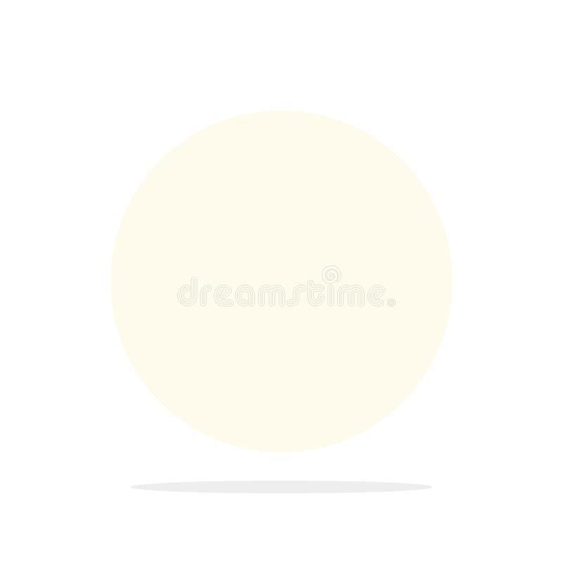 La direzione, esplora, traccia, traversa, vettore piano dell'icona di colore di navigazione royalty illustrazione gratis