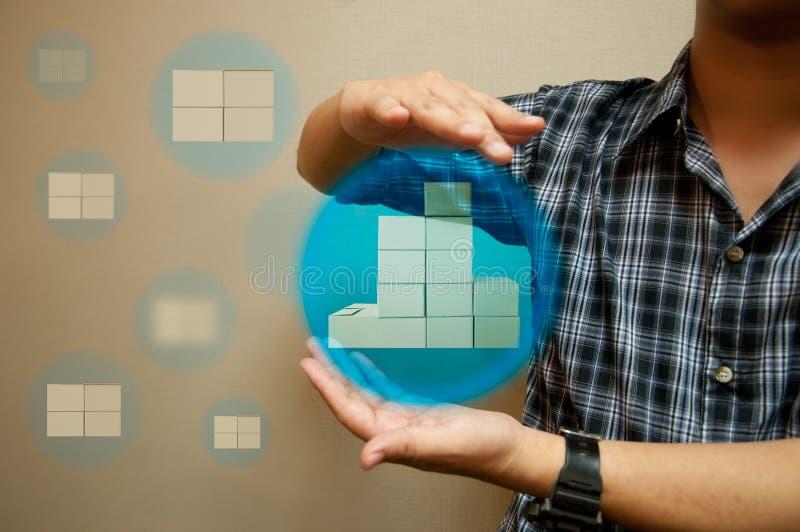 La distribution mobile choisie images libres de droits