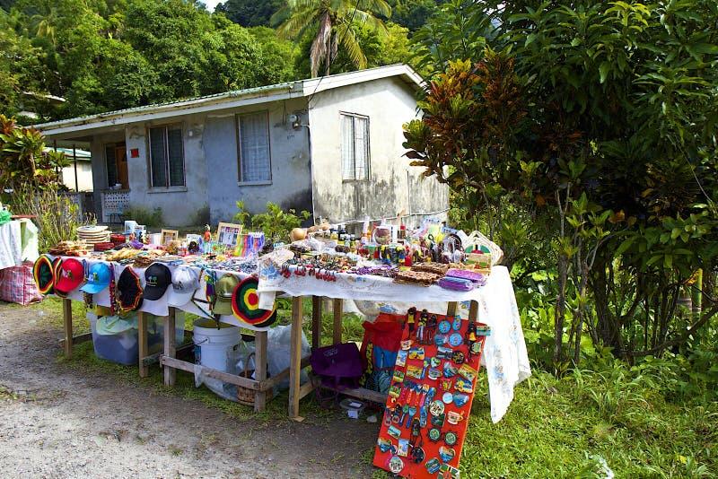 La Dominica, caraibica immagini stock libere da diritti