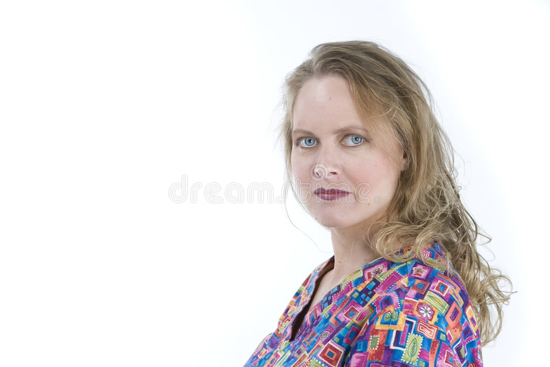 La donna in medico frega fotografie stock