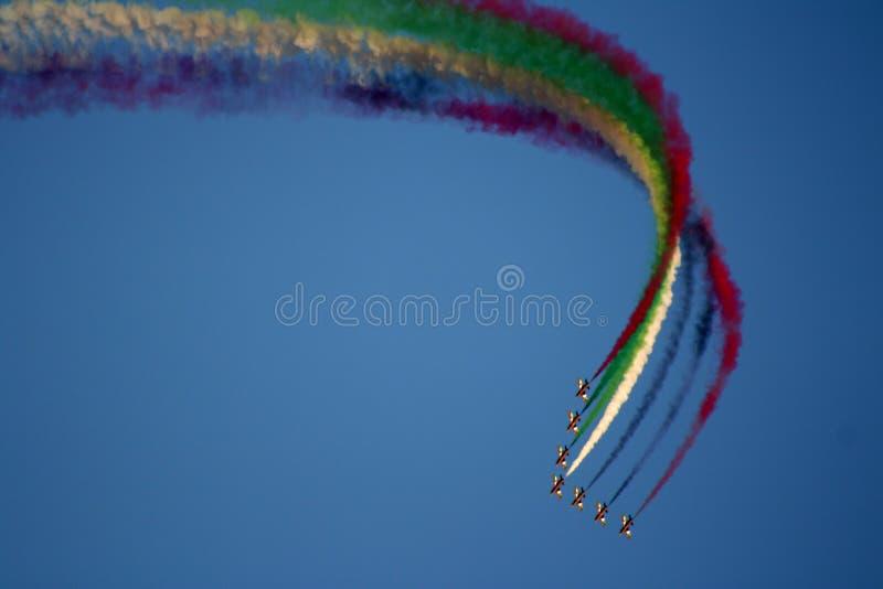 La Doubai Airshow 2011 fotografia stock