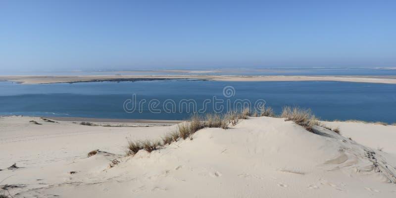 La dune de la dune de sable la plus grande de Pilat en Europe est située dans le pyla de Teste-De-Buch de La dans la région de  image stock