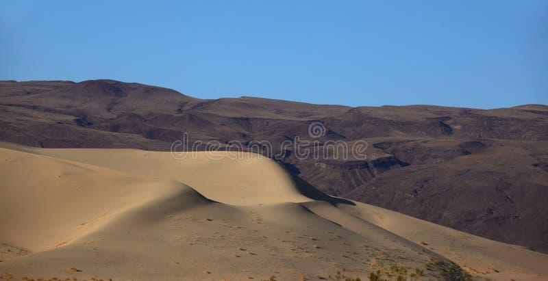 La dune Eureka à l'aube photographie stock libre de droits