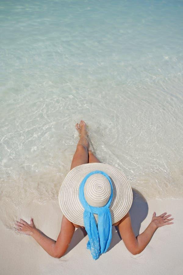 La durée est une plage (le rivage) photographie stock libre de droits