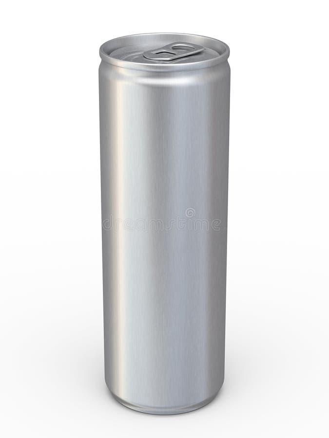 La energía bebe las latas fotografía de archivo libre de regalías