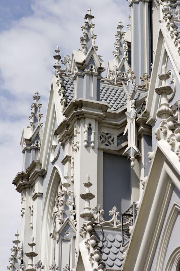 La Ermita, Cali, Colombia de Iglesia fotografía de archivo libre de regalías