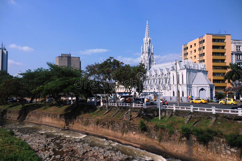 La Ermita church, Downtown Cali - Colombia royalty free stock images