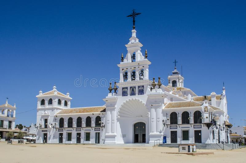 La ermita del EL RocÃo fotos de archivo libres de regalías