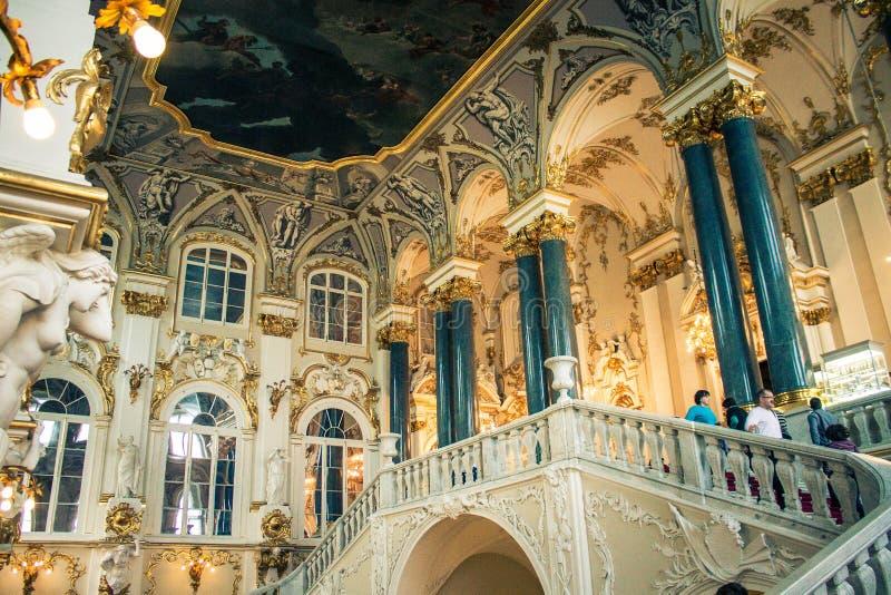 La ermita St Petersburg imagen de archivo