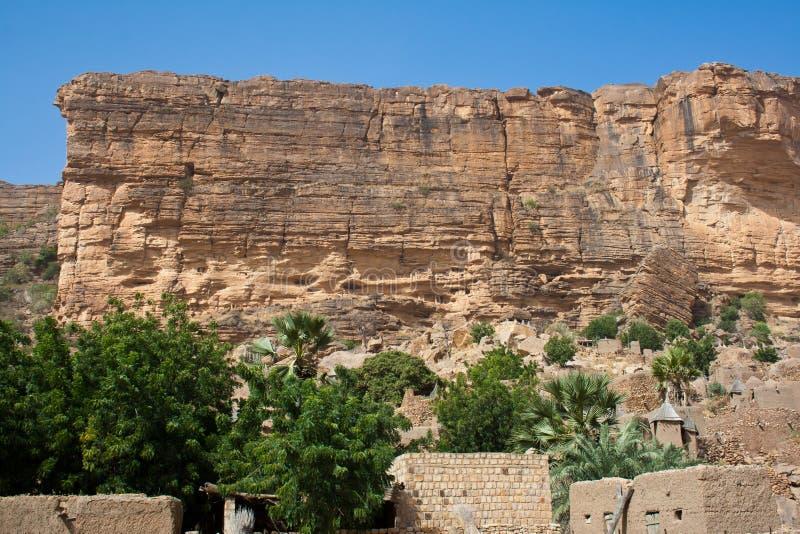 La escarpa de Bandiagara, Malí (África). fotos de archivo