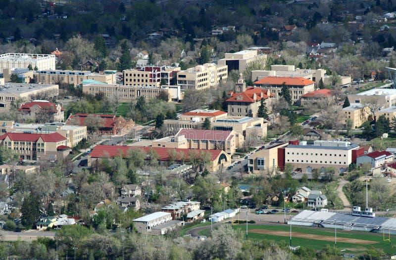La escuela de Colorado de minas imagen de archivo