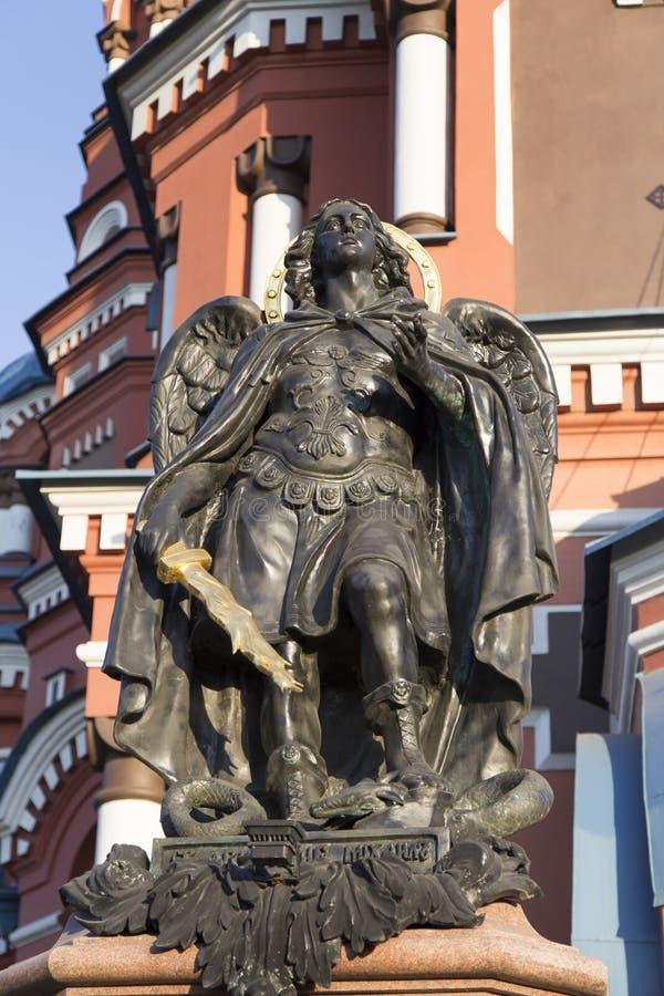 La escultura en la iglesia, Federación Rusa imagen de archivo