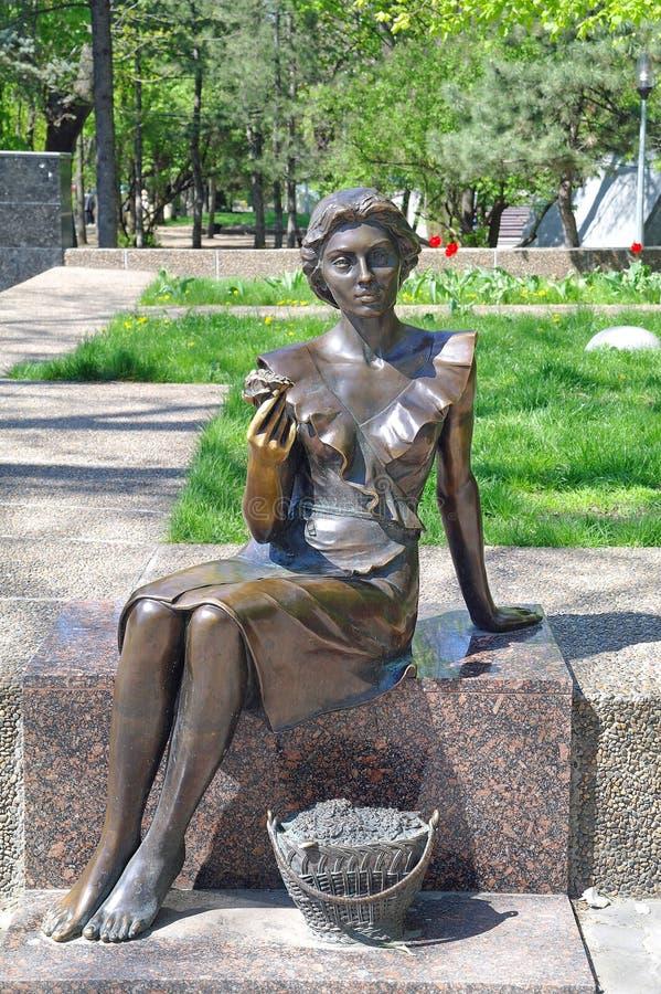 La escultura es florista fotografía de archivo libre de regalías