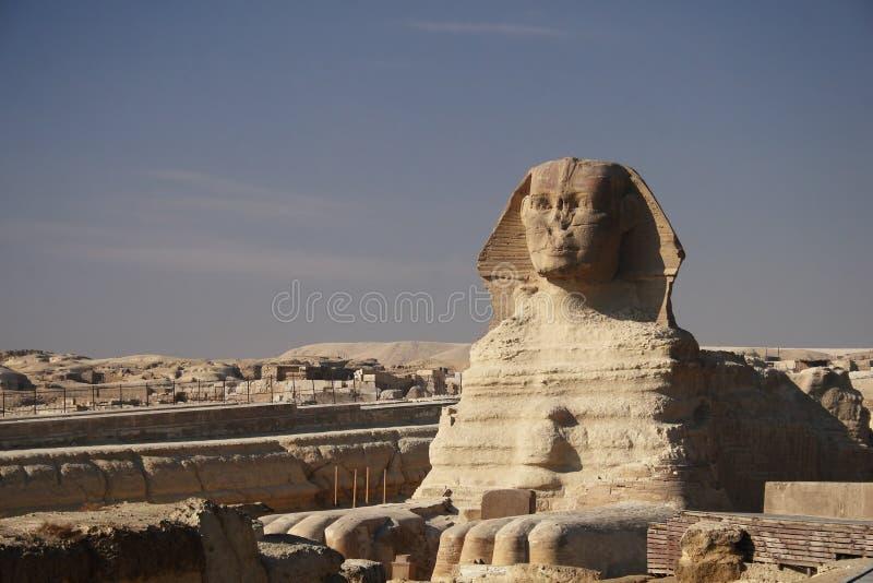 La esfinge, El Cairo imagen de archivo