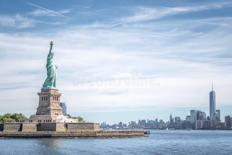 La estatua de la libertad fotografía de archivo