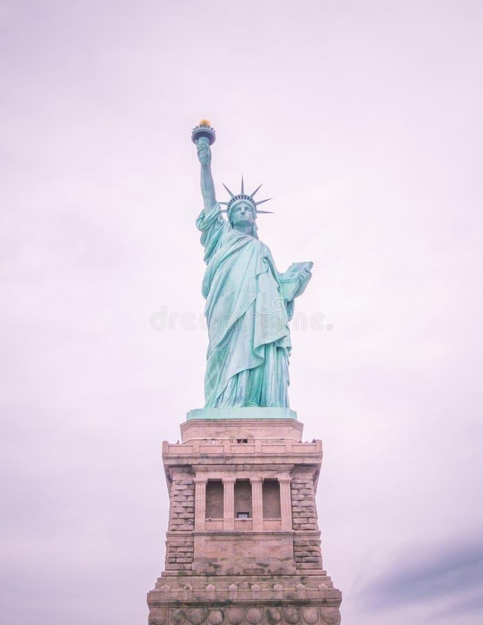 La estatua de la libertad foto de archivo