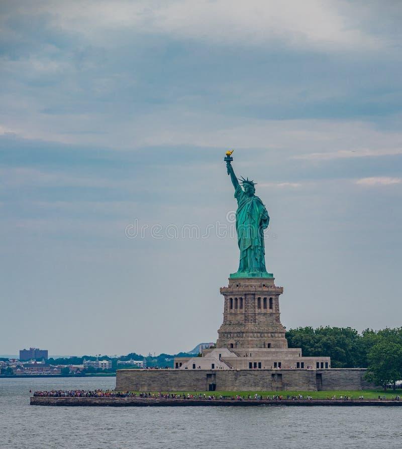 La estatua de la libertad en New York City foto de archivo libre de regalías