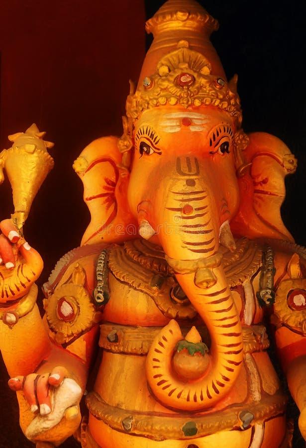 La estatua de Lord Ganesha fotos de archivo