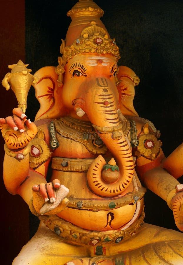 La estatua de Lord Ganesha fotos de archivo libres de regalías