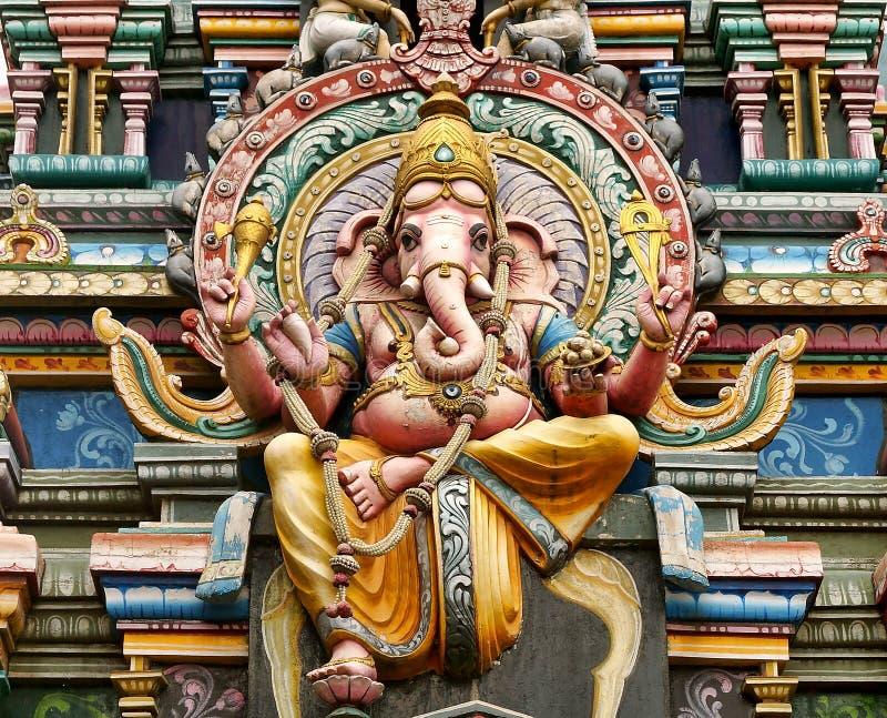 La estatua de Lord Ganesha imagen de archivo libre de regalías