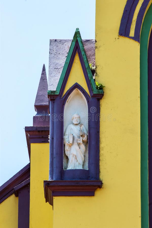 La estatua de San Pedro foto de archivo