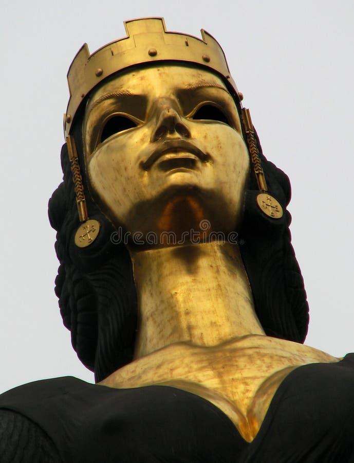 La estatua de Sveta Sofia o del santo Sofía en el centro de la capital búlgara fotos de archivo libres de regalías