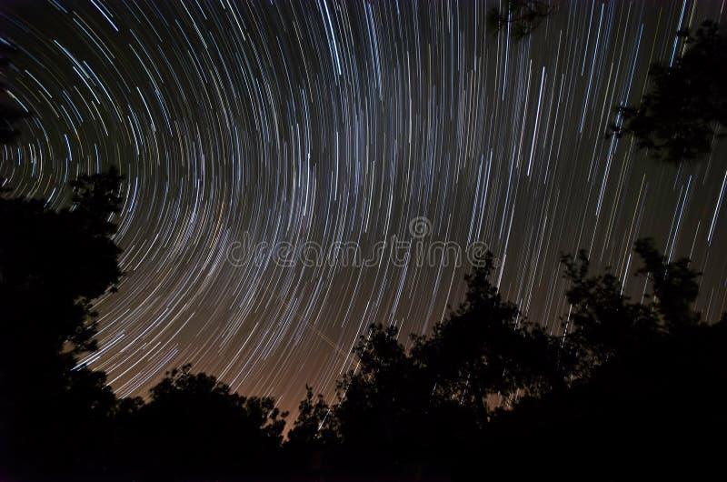 La estrella arrastra inCyrpus imagen de archivo