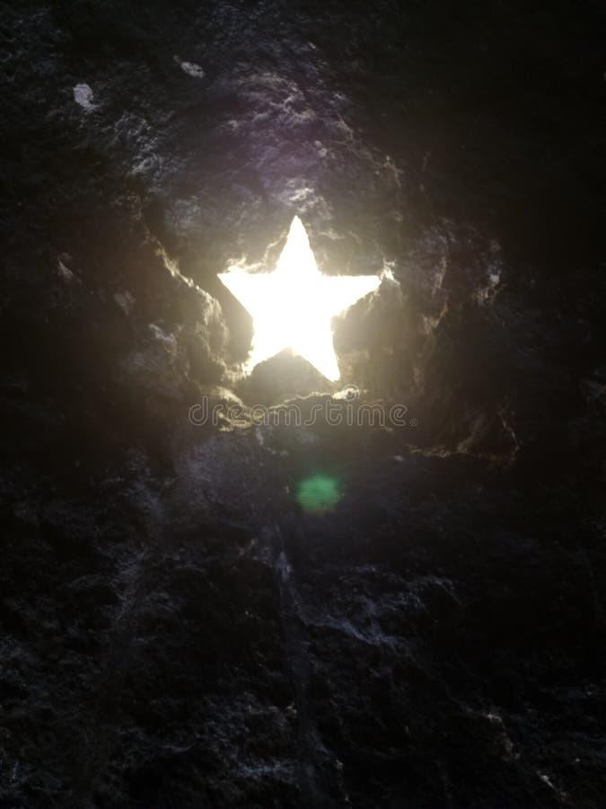 La estrella de Bel?n imagen de archivo