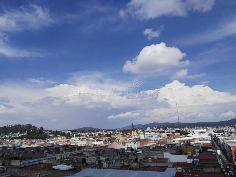 La estrella De Puebla de desde de vue de Linda photo libre de droits