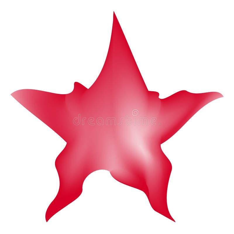La estrella El panel solar y muestra para la energía alternativa libre illustration