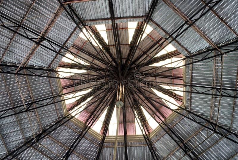 La estructura de tejado fotos de archivo libres de regalías