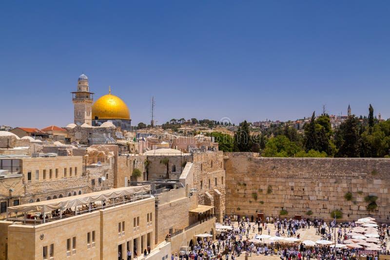 La Explanada de las Mezquitas en Jerusalén, Israel imágenes de archivo libres de regalías