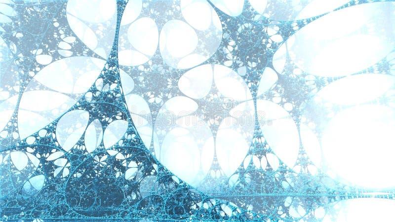 La fábrica mística de los copos de nieve fotos de archivo libres de regalías