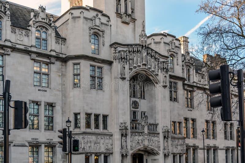 La façade de bâtiment de palais de corporations de Middlesex photographie stock