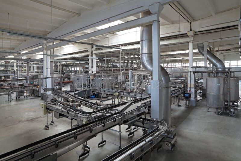 La fabbrica di birra fotografia stock