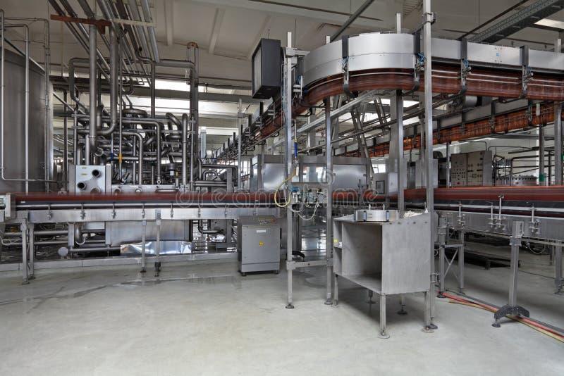 La fabbrica di birra fotografie stock
