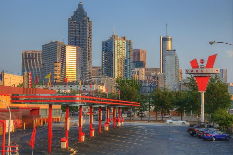La fac à Atlanta, la Géorgie photographie stock libre de droits