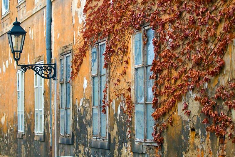 La facciata della costruzione. fotografie stock libere da diritti
