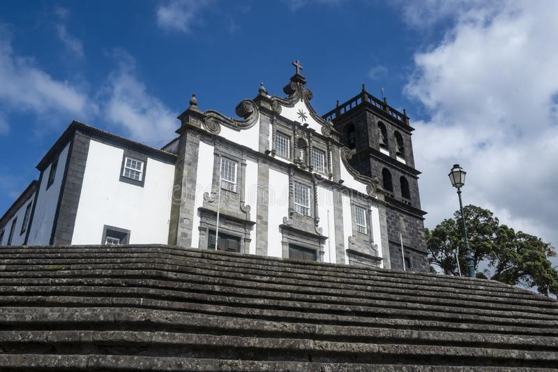 La fachada de Igreja Matriz de Nossa Senhora da Estrela 1 imagenes de archivo