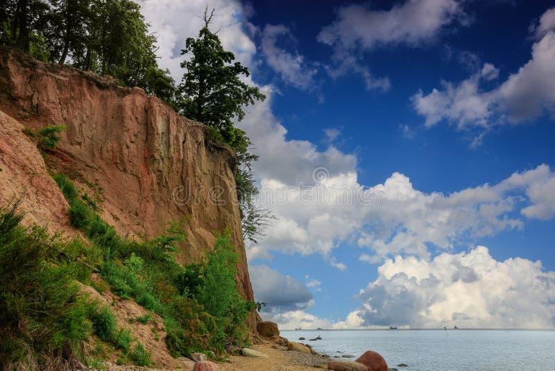 La falaise d'owo de 'd'OrÅ, photos libres de droits