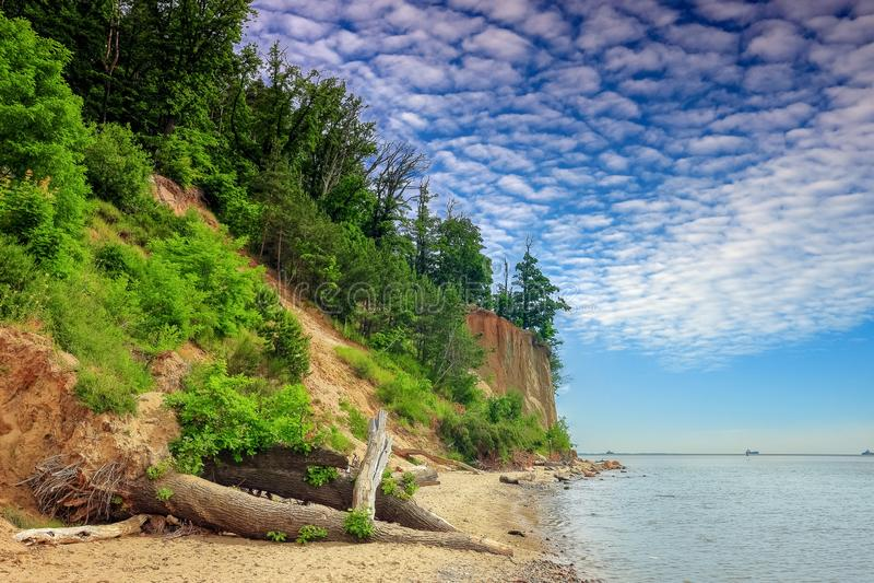 La falaise d'owo de 'd'OrÅ, photos stock