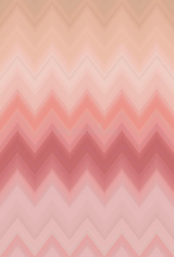 La falta de definición lisa de la pendiente de Chevron, fondo del arte abstracto del modelo de zigzag tiende libre illustration