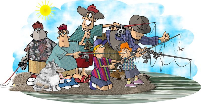 La familia de Fisher libre illustration