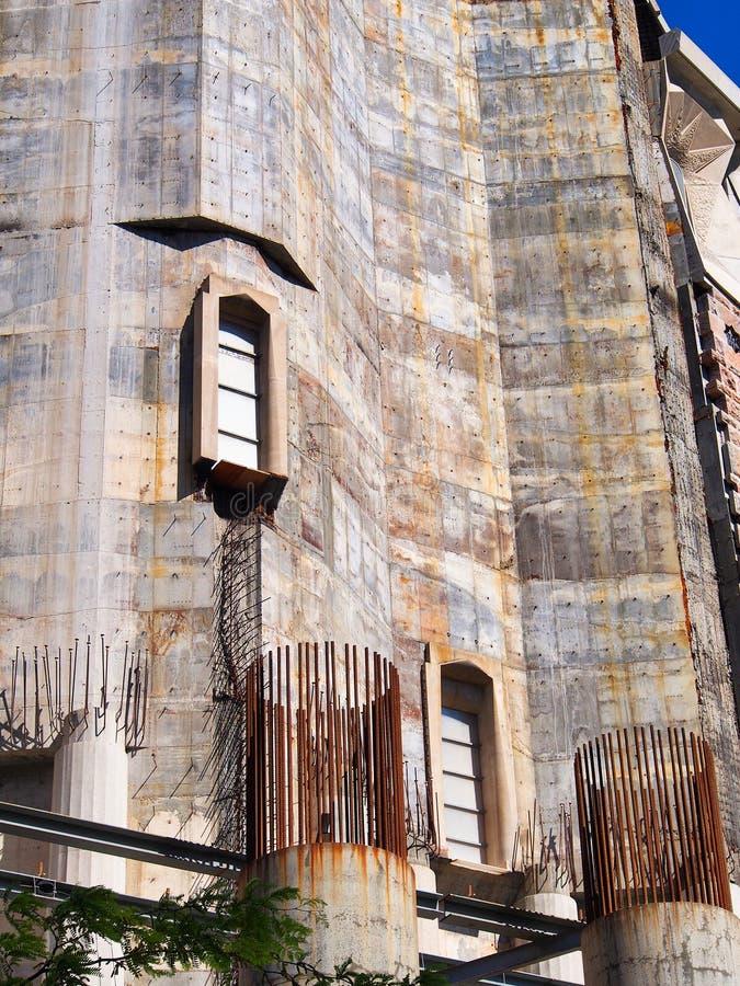La Familia Sagrada, basilica non finita, Barcellona, Spagna immagine stock