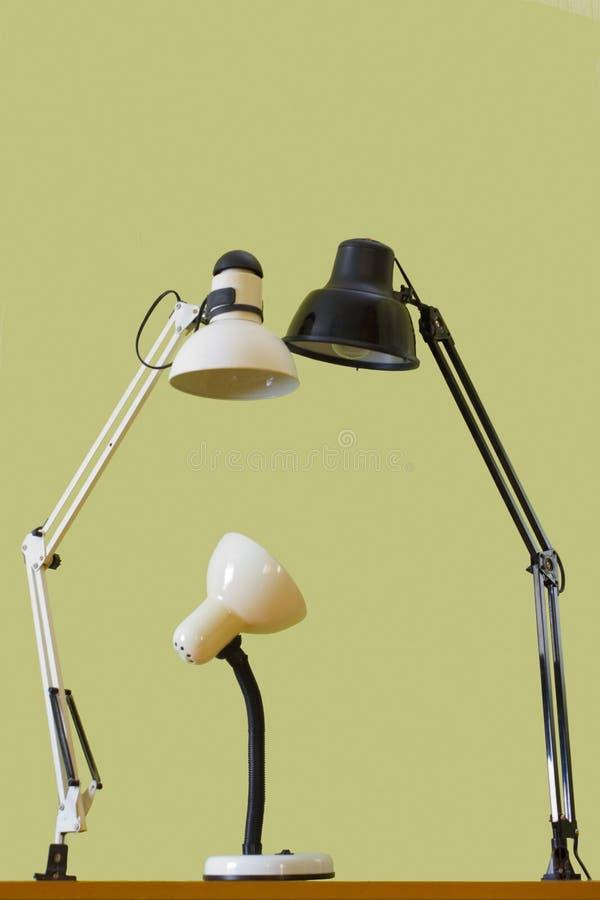 La famille de la lampe image libre de droits