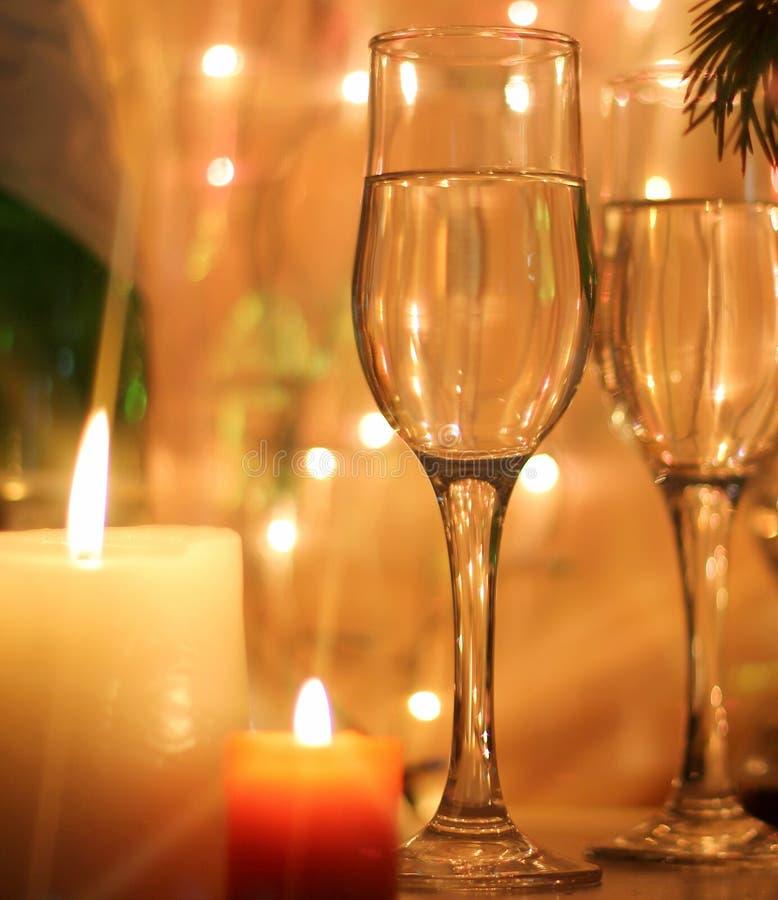 La Feliz Año Nuevo y la Feliz Navidad diseñan la tarjeta imagen de archivo