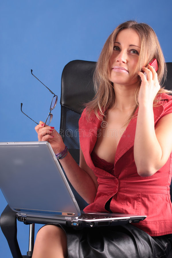 La femme d'affaires images stock