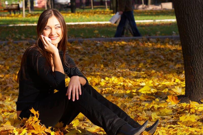 La femme réussie d'affaires photographie stock libre de droits
