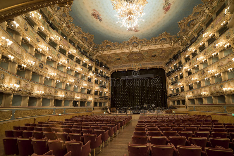 La Fenice de Teatro de mamie photos libres de droits