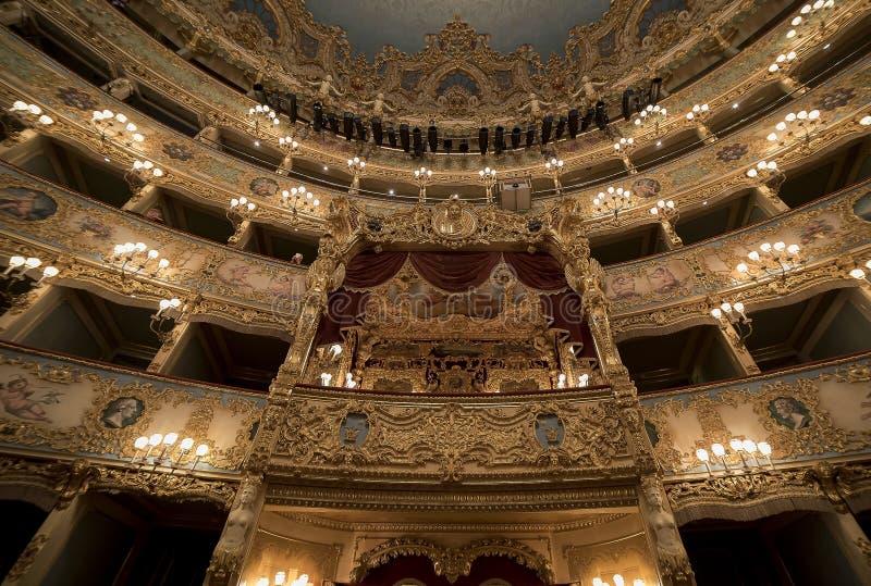 La Fenice de Teatro de mamie images libres de droits